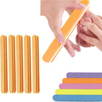 100pcs/Lot Nail Art Accessory Sponge File, Manicure Tool High Quality EVA Nail Care Product Low Price