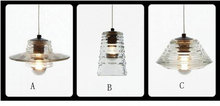 CE standard Retro style hanging lamp/glass pendant lamp/Modern glass pendant lamp XP6053