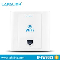300Mbps Wall Mount Embeded wifi AP for Hotel