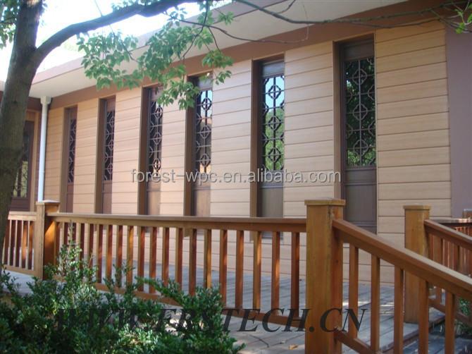 Valla madera exterior exteriores valla y tarima piscina - Barandilla madera exterior ...