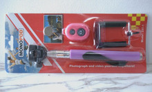 Monopod Selfie Stick Telescopic & Bluetooth Shutter Remote Mobile Holder