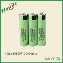 Powe type battery NCR18650PF high discharge 10A 3.7v battery for pana 18650 sonic 2900mah