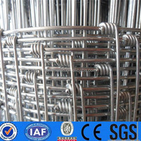 Wire mesh fence for grassland / galvanized farm cattle fence / pasture fence Hot sale for factory