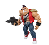 Plastic Collectible figure with gun,Plastic collectible action figure,Custom plastic muscle man action figure collection