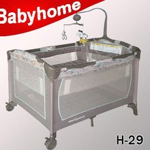 2015 China good baby playards with canopy suppliers