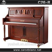 Instrumentos musicales extranjeros y chinos, piano vertical y de cola de nogal mate hecho a mano