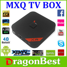 2015 best selling KODI 14.0 or XBMC 13.2 EM6Q quad core h265 tv box hd18q android 4.4 8gb amlogic s805 mxq