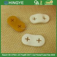 Oval Shape Plastic stopper for mobile earphone -- 25637
