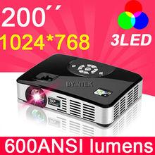 HDMI projector micro/pocket digital 1080P Home theater cinema Full HD multimedia 3D DLP Mini LED video projectors