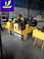 China supply 6 ton double drum vibratory road roller, 6T two wheel road roller