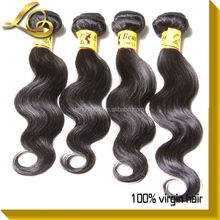 Alibaba Express 5A 100% Natural Indian Temple Hair, Cheap Indian Hair Extensions