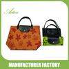 Multi colors printing foldable shopping bags