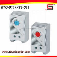 Cabinet Small Size Heater adjustable bimetal type thermostat/ termostat KTS 011