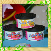 Guangzhou orange gel air freshener / car perfume