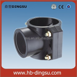 PP compression fittings clamp saddle factory