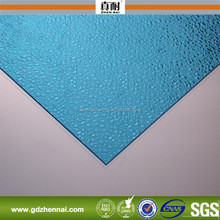 100% bayer lexan UV coated polycarbonate frosted plastic sheet/frosted glass sheet