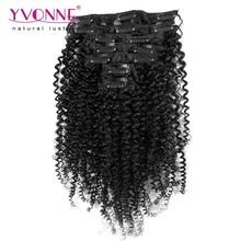 100% Brazilian hair clip-on hair extension