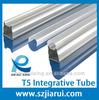 Low price for LED T5 Integrative aluminum tube shade/ LED lamp shell