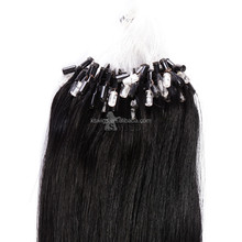 K.S WIGS 12INCH straight micro ring hair extensions for blacks