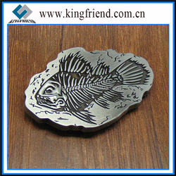 Animal fish belt buckle