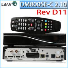Precio para la fábrica Cable DM800se receptor DM800se-c 2.10 tarjeta Sim interna wifi y enigma2 linux hd dvb-c receptor