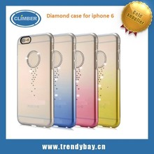 Top sales G-CASE brand diamond case for iphone 6