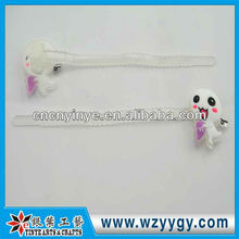 Custom soft pvc flexible cable tie 150mm, new design PVC adjustable zip tie