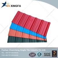 sample free ASA pvc concrete roof tile