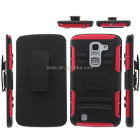 cell phone case cover for LG g pro with belt clip and kickstanding