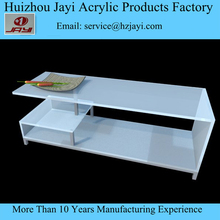 Factory manufacturer luxury clear acrylic hotel tv stand