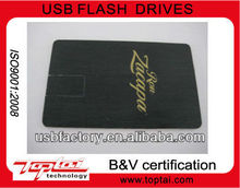 wholesale promotional business card usb flash drive 1gb 2gb 4gb 8gb,custom logo is optional