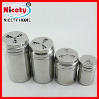Big size Metal Stainless Steel Spice Jar