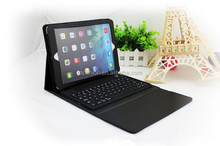 Hot Selling for ipad air bluetooth keyboard case pu leather cover with kickstand, China wholesale