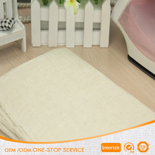 wholesales bulk organic cotton linen fabric China manufacture price cheapest