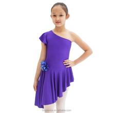 L038 2015 purple children latin costume