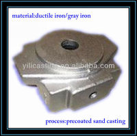 cock body auto parts grey iron casting ggg20/ggg25 OEM China casting foundry
