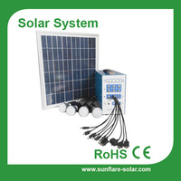 2015 new solar system including solar panel and lamp mobile phone charging solar system