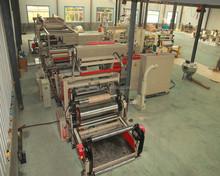 Full automatic high speed extrusion film laminating machine WSFM-1300D RUIAN WENZHOU
