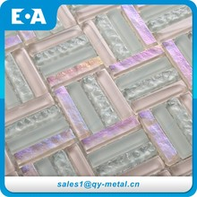 Building Materials Name Company Halls Mosaic Black Glitter Floor Glass Tiles In China