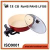 Round fry silicone pans aluminium die-cast pan