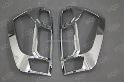 Best selling chromed Navara NP300 2014 New tail light/lamp cover accessories for car parts