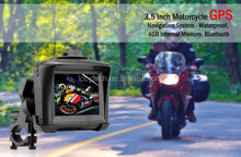 Waterproof motorcycle navigation gps,MSB2531 ARM Cortex A7 32bir 800MHZ