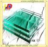 transparent rectangular 6mm tempered glass panels for sale