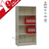 metal display bookcases / steel book cabinet with 4 shelves support