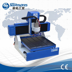 Discount price table moving usb wood cnc router, 1.5kw water cooling 4040 mini 3d cnc router for aluminum PCB