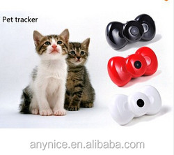 Hot Pet Product GPS Trackers Mini Bow Tie MMS Video GSM/GPRS Locator Real Time Tracker for Pets Dogs Cats Tracking