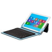 10.1 inch Tablet PC Leather Case with Separable Bluetooth Keyboard