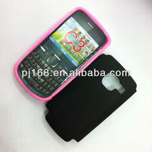 cell phone case for nokia C3,mobile phone case,2 in 1,COMBO,waterproof bag high qualiy for mobile