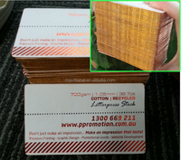 High Quality Gold Edge Thick Business Cards/Cheap Embossing Business Card