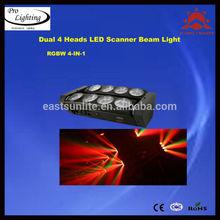 En movimiento 8 10w cabezas de araña de la viga/led spider haz/led de haz de luz araña